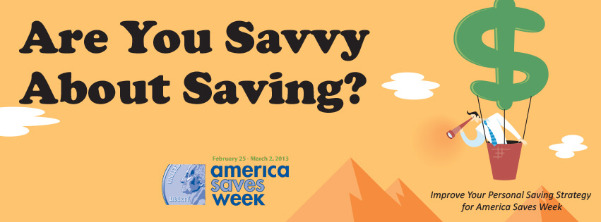 Try living credit card free for America Saves Week, February 25th to March 2nd.